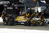 Verizon IndyCar Series<br /> Iowa Corn 300<br /> Iowa Speedway, Newton, IA USA<br /> Sunday 9 July 2017<br /> James Hinchcliffe, Schmidt Peterson Motorsports Honda makes a pit stop.<br /> World Copyright: F. Peirce Williams<br /> LAT Images