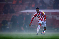 29th December 2020; Bet365 Stadium, Stoke, Staffordshire, England; English Football League Championship Football, Stoke City versus Nottingham Forest; Tom Ince of Stoke City in the thick fog