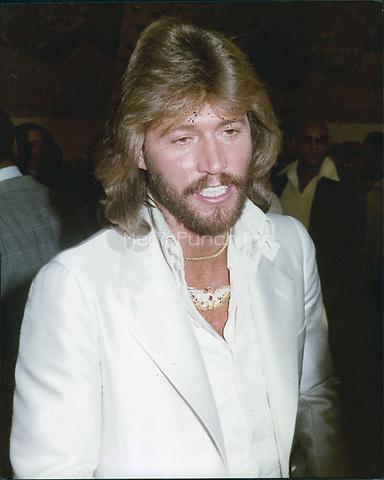 Barry Gibb 1984<br /> Photo By John Barrett-PHOTOlink.net / MediaPunch