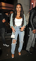Clarisse Juliette at the boohooMan Love Island Party, boohoo, Great Portland Street, on Thursday 07th October 2021, in London, England, UK. <br /> CAP/CAN<br /> ©CAN/Capital Pictures
