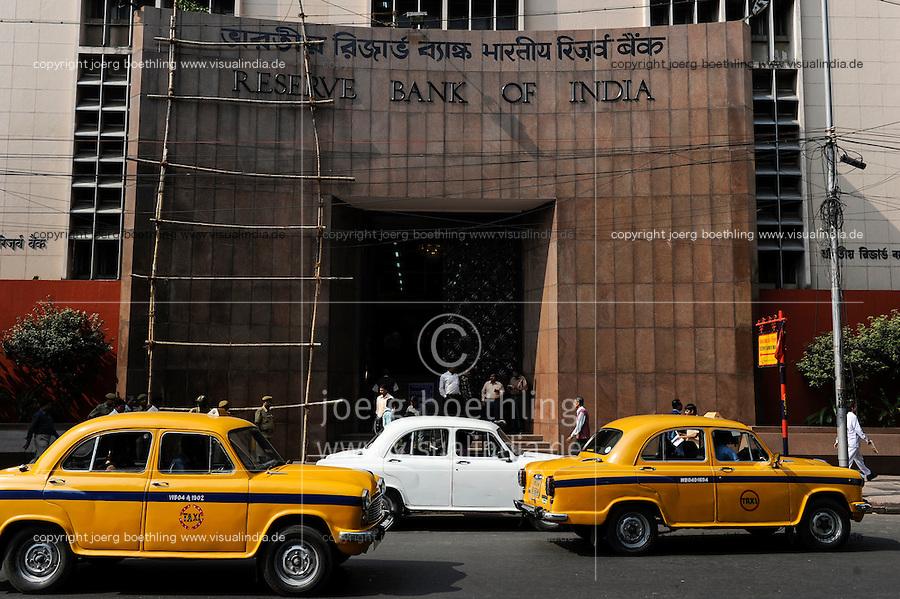 INDIA Westbengal, Kolkata, Reserve Bank of India / INDIEN, Westbengalen, Kolkata, Reserve Bank of India