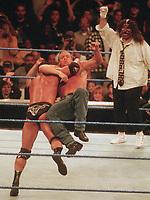 The Rock Triple H Mick Foley  1998                                                  Photo by  John Barrett/PHOTOlink