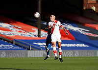 12th September 2020; Selhurst Park, London, England; English Premier League Football, Crystal Palace versus Southampton; Oriol Romeu of Southampton head the ball passed Eberechi Eze of Crystal Palace