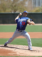 Layne Somsen - Los Angeles Dodgers 2018 spring training (Bill Mitchell)