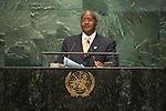 Uganda<br /> H.E. Mr. Yoweri Kaguta Museveni<br /> President<br /> <br /> General Assembly Seventy-first session: Opening of the General Debate 71 United Nations, New York