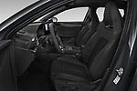 Front seat view of a 2021 Cupra Leon Break - 5 Door Wagon