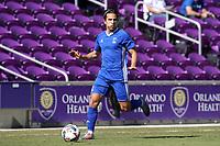 Orlando, Florida - Wednesday January 17, 2018: Pablo Aguilar. Match Day 3 of the 2018 adidas MLS Player Combine was held Orlando City Stadium.