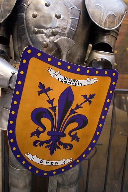 Knights Armor, Taverna Divina Comedia Restaurant, Florence, Italy