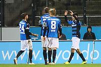 Torjubel Cagatay Kader (FSV Frankfurt) beim 3:1- 10.11.2016: FSV Frankfurt vs. Eintracht Frankfurt, Frankfurter Volksbank Stadion
