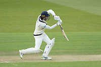 Peter Handscombe, Middlesex CCC drives to mid off during Middlesex CCC vs Gloucestershire CCC, LV Insurance County Championship Group 2 Cricket at Lord's Cricket Ground on 7th May 2021