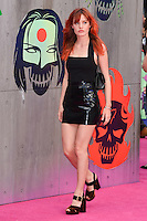 """Georgia May Jagger<br /> arrives for the """"Suicide Squad"""" premiere at the Odeon Leicester Square, London.<br /> <br /> <br /> ©Ash Knotek  D3142  03/08/2016"""