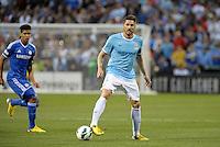 Xavi Garcia , Manchester City in action..Manchester City defeated Chelsea 4-3 in an international friendly at Busch Stadium, St Louis, Missouri.