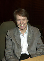 Montreal, October 19, 2000<br /> Canadian Astronaut, Doctor, Scientist and Photographer, Dr. Roberta Bondar<br /> NASA, Space Shuttle, Science.<br /> The world's first female Canadian astronaut and neurologist in space, Dr. Roberta Bondar is globally recognized for her contributions to space medicine. She continued her discoveries for more than a decade, finding new connections between recovering from new environments and neurological illnesses such as stroke and Parkinson's disease.