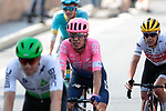 Rigoberto Uran (COL) EF Education First and Richie Porte (AUS) Trek-Segafredo cross the finish line of Stage 10 of the 2019 Tour de France running 217.5km from Saint-Flour to Albi, France. 15th July 2019.<br /> Picture: Colin Flockton | Cyclefile<br /> All photos usage must carry mandatory copyright credit (© Cyclefile | Colin Flockton)