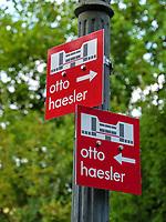 Otto-Haesler-Rundweg in Celle, Niedersachsen, Deutschland, Europa<br /> Otto-Haesler-route   in Celle, Lower Saxony, Germany, Europe