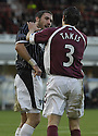 02/01/2007       Copyright Pic: James Stewart.File Name : sct_jspa09_dunfermline_v_hearts.PHIL MCGUIRE CLASHES WITH TAKIS FYSSAS AFTER MCGUIRE ACCUSED HIM OF DVING...James Stewart Photo Agency 19 Carronlea Drive, Falkirk. FK2 8DN      Vat Reg No. 607 6932 25.Office     : +44 (0)1324 570906     .Mobile   : +44 (0)7721 416997.Fax         : +44 (0)1324 570906.E-mail  :  jim@jspa.co.uk.If you require further information then contact Jim Stewart on any of the numbers above.........