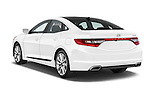 Car pictures of rear three quarter view of a 2017 Hyundai Azera Liimited 4 Door Sedan angular rear