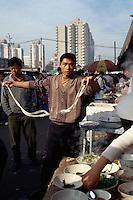 China, Peking, Nudelküche bei der Jinsong-Straße