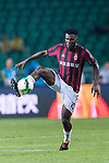 AC Milan Midfielder Franck Kessie in action during the International Champions Cup 2017 match between AC Milan vs Borussia Dortmund at University Town Sports Centre Stadium on July 18, 2017 in Guangzhou, China. Photo by Marcio Rodrigo Machado / Power Sport Images