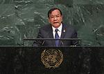 72 General Debate – 22 September <br /> <br /> Cambodia