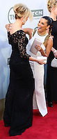 HOLLYWOOD, LOS ANGELES, CA, USA - JUNE 05: Felicity Huffman, Eva Longoria at the 42nd AFI Life Achievement Award Honoring Jane Fonda held at the Dolby Theatre on June 5, 2014 in Hollywood, Los Angeles, California, United States. (Photo by Xavier Collin/Celebrity Monitor)