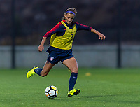 Lisbon, Portugal - November 7, 2018:  The USWNT trains in preparation for an international friendly against Portugal.