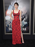 Alexandra Daddario attends The Warner Bros. Pictures World Premiere of San Andreas held at the TCL Chinese Theatre  in Hollywood, California on May 26,2015                                                                               © 2015 Hollywood Press Agency