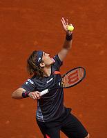 France, Paris, 25.05.2014. Tennis, Roland Garros, Lukas Lacko (SVK)<br /> Photo:Tennisimages/Henk Koster