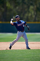 Minnesota Twins Mitchell Kranson (26) during a minor league Spring Training game against the Baltimore Orioles on March 17, 2017 at the Buck O'Neil Baseball Complex in Sarasota, Florida.  (Mike Janes/Four Seam Images)