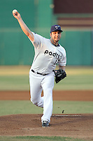 Will Inman #13 of the Tucson Padres plays in a Pacific Coast League game against the Tacoma Rainiers at Kino Stadium on June 4, 2011  in Tucson, Arizona. .Photo by:  Bill Mitchell/Four Seam Images.