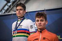 World Champion Wout Van Aert (BEL) as runner-up<br /> <br /> UEC CYCLO-CROSS EUROPEAN CHAMPIONSHIPS 2018<br /> 's-Hertogenbosch – The Netherlands<br /> Men Elite Race