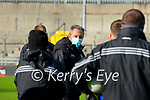 Kerry Manager Peter Keane after the Allianz Football League Division 1 Round 7 match between Kerry and Donegal at Austin Stack Park in Tralee on Saturday.
