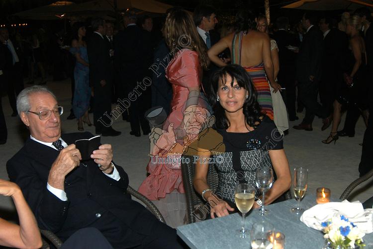 CESARE ROMITI CON ANNA COLIVA<br /> 2004