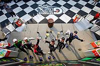 GS Podium, #35 Riley Motorsports Mercedes-AMG, GS: James Cox, Dylan Murry, Jeroen Bleekemolen, #82 BimmerWorld Racing BMW M4 GT4, GS: James Clay, Devin Jones, #39 Carbahn Motorsports Audi R8, GS: Tyler McQuarrie, Jeff Westphal