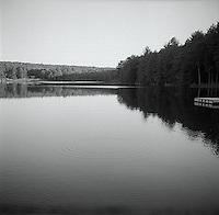 Ripples on pond<br />