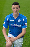 St Johnstone FC Photocall, 2015-16 Season....03.08.15<br /> Joe Shaughnessy<br /> Picture by Graeme Hart.<br /> Copyright Perthshire Picture Agency<br /> Tel: 01738 623350  Mobile: 07990 594431