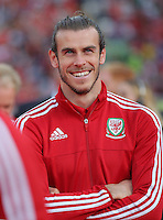 "Pictured: Gareth Bale at the Cardiff City Stadium Friday 08 July 2016<br /> Re: Thousands of fans are expected to line the streets to welcome back the Wales national team. An open top bus will parade through Cardiff, from Cardiff Castle to Cardiff City Stadium where the Manic Street Preachers will play to 33,000 people.<br /> The parade comes after Wales lost 2-0 to Portugal in the semi-final on Wednesday, with their historic run hailed as a performance which has ""changed Welsh football forever""."