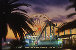 Santa Monica pier, California. © Michael Brands. 970-379-1885.