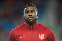 San Jose, Ca - Friday March 24, 2017: Jozy Altidore during the USA Men's National Team defeat of Honduras 6-0 during their 2018 FIFA World Cup Qualifying Hexagonal match at Avaya Stadium.