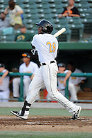 South Bend Silver Hawks outfielder Alex Glenn (28) during a game against the Bowling Green Hot Rods on August 20, 2013 at Stanley Coveleski Stadium in South Bend, Indiana.  Bowling Green defeated South Bend 3-2.  (Mike Janes/Four Seam Images)