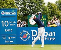 2nd July 2021; Mount Juliet Golf Club, Kilkenny, Ireland; Dubai Duty Free Irish Open Golf, Day Two; Rory Mcilroy of Northern Ireland tees off on the 10th tee