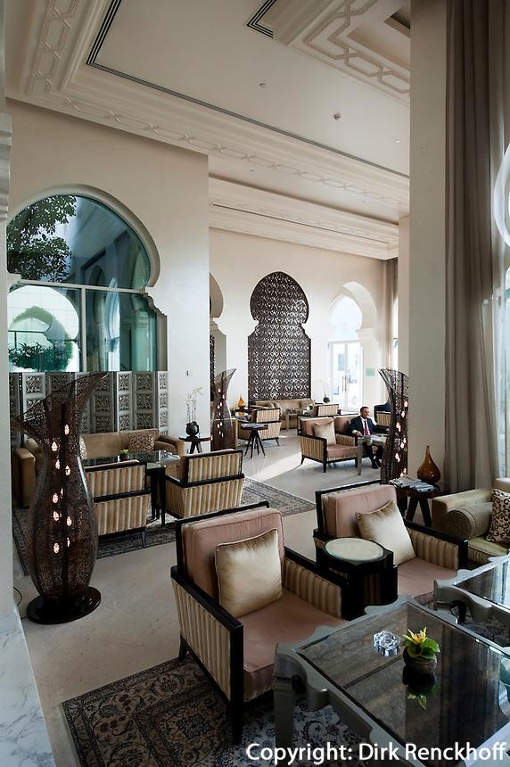 Vereinigte arabische Emirate (VAE), Dubai, Lounge  im Hotel Park Hyatt