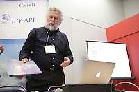 Montreal (QC) CANADA - April 2012 File Photo - DDavid Barber at  IPY (International Polar Year) 2012 conference held at Montreal Convention Centre - Pall Christiansen