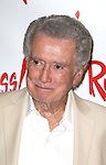 """Regis Philbin attends the Opening Night performance of  """"Ruthless! The Musical"""" at the St. Luke's Theatre on July 13, 2015 in New York City."""