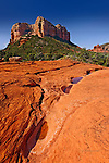 Courthouse Butte from Llama Trail, near Sedona, Arizona.  Available in sizes up to 24 x 36 inches.