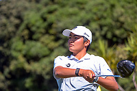 Kazuma Kobori. Day two of the Renaissance Brewing NZ Stroke Play Championship at Paraparaumu Beach Golf Club in Paraparaumu, New Zealand on Friday, 19 March 2021. Photo: Dave Lintott / lintottphoto.co.nz