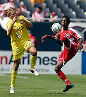 July 16, 2005; Chicago IL, USA; Chicago Fire play the Columbus Crew at Soldier Field.
