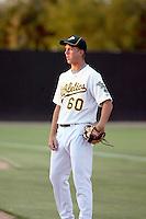 Drew Tyson - AZL Athletics - 2010 Arizona League. .Photo by:  Bill Mitchell/Four Seam Images..