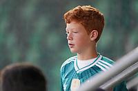 junger Deutscher Fan im Stadion - St. Gallen 02.09.2021: Lichtenstein vs. Deutschland, WM-Qualifikation, St. Gallen