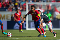 Orlando, Florida - Saturday, June 04, 2016: Costa Rican midfielder Bryan Ruiz (10) recovers to gain possession during a Group A Copa America Centenario match between Costa Rica and Paraguay at Camping World Stadium.
